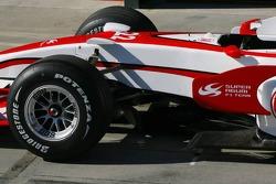 Detail of the Super Aguri F1 SA07