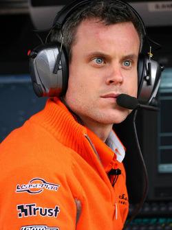 James Robinson, ingénieur en chef de Skyper F1
