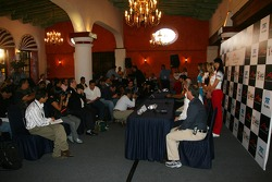 A1GP media day Press conference