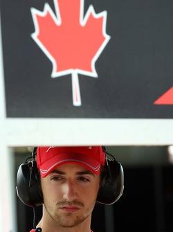 James Hinchcliffe, Driver of A1Team Canada