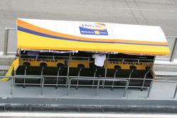 Muro de pits de Renault F1