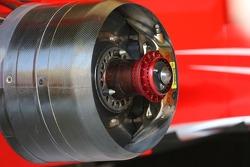 Ferrari plan technique disque de frein