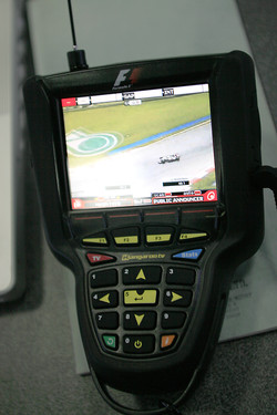 Qualifying action on Kangaroo TV