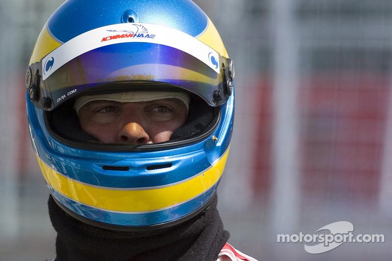 Newman Hass Lanigan Racing team member