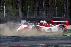 Spin for #27 Horag Racing Lola B05/40 - Judd: Fredy Lienhard, Didier Theys, Eric van de Poele