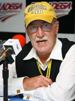 Press conference: NASCAR Vice President of Corporate Communications Jim Hunter