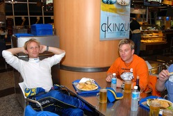 Petter Solberg and Henning Solberg