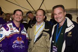 Jim Stewart, Doug Fritz and Govenor Tim Kaine