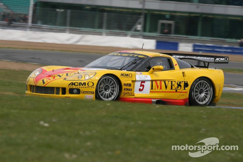 #5 Carsport Holland Corvette C6R: Jean-Denis Deletraz, Mike Hezemans
