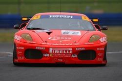 #62 Scuderia Ecosse Ferrari 430 GT2: Tim Mullen, Andrew Kirkaldy