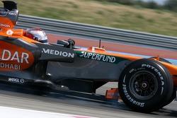 Fairuz Fauzy, Test Driver, Spyker F1 Team