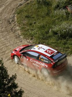 Daniel Sordo and Marc Marti, Citroen Total WRT, Citroen C4 WRC