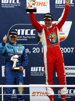 Nicola Larini, Team Chevrolet, Chevrolet Lacetti, James Thompson, N Technology, Alfa Romeo 156