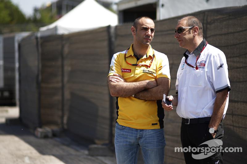 Bruno Michel з Сиріл Абітебул, Renault Sport F1