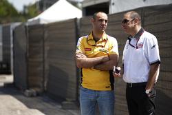Bruno Michel mit Cyril Abiteboul, Renault Sport F1