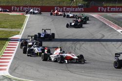 Marvin Kirchhofer, ART Grand Prix leads Jimmy Eriksson, Koiranen GP