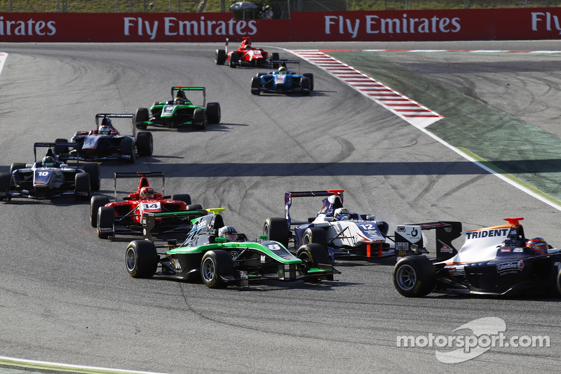 Alex Fontana, Status Grand Prix, vor Matthew Parry, Koiranen GP