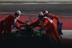 Auto von Seb Morris, Status Grand Prix