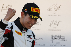 Podium : Esteban Ocon, ART Grand Prix