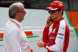 Esteban Gutierrez, Ferrari Test and Reserve Driver with Didier Coton, Driver Manager