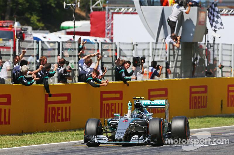2015赛季西班牙大奖赛:六场分站赛胜利中的第一场