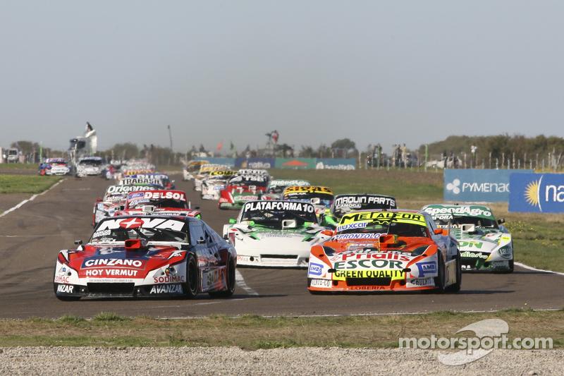 Matias Rossi, Donto Racing, Chevrolet; Jonatan Castellano, Castellano Power Team, Dodge; Santiago Ma