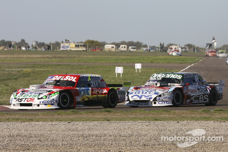 Juan Pablo Gianini, JPG Racing, Ford, und Camilo Echevarria, Coiro Dole Racing, Torino