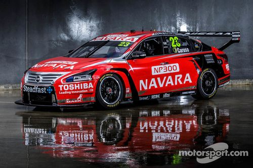 Michael Caruso Nissan livery onthulling