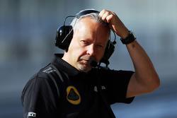 Марк Слейд, гоночный инженер Lotus F1 Team