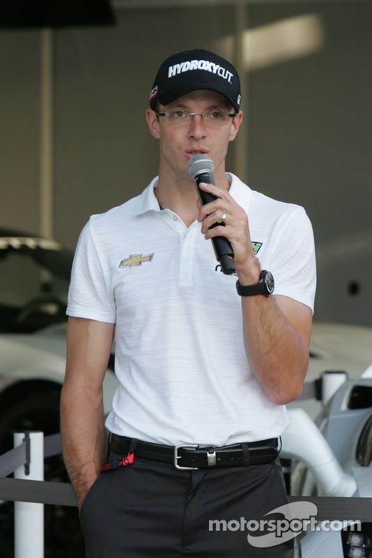 Chevrolet, Aerodynamik-Präsentation: Sebastien Bourdais, KVSH Racing