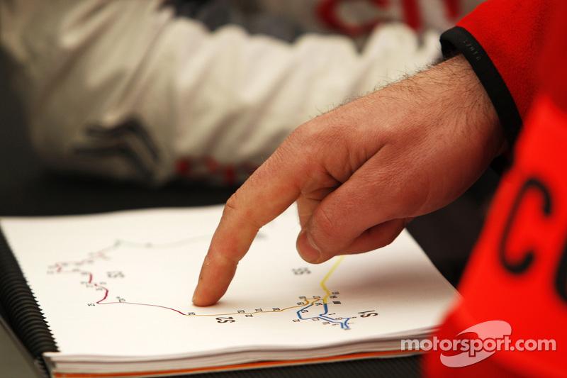 Notizen für den Nürburgring