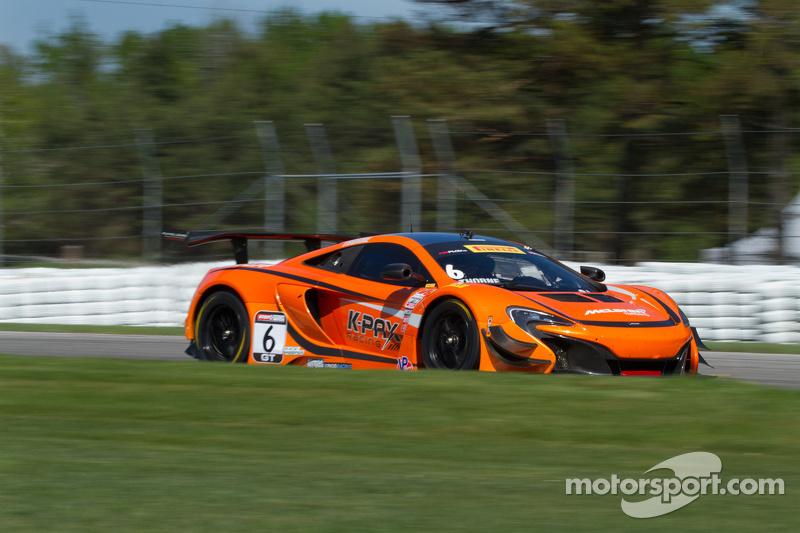 #6 K-Pax Racing,迈凯伦650S GT3: Robert Thorne