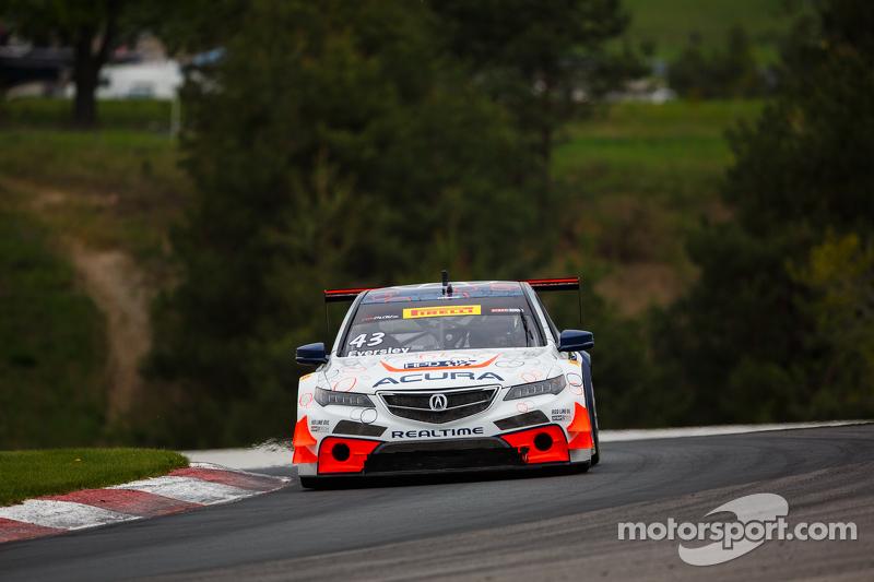 #43 RealTime Racing Acura TLX-GT: Ryan Eversley