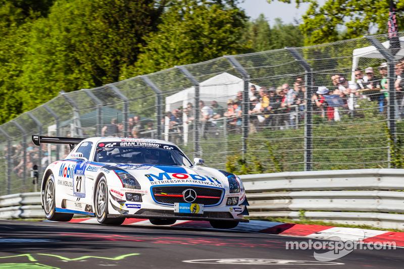 #27 Team Zakspeed, Mercedes-Benz SLS AMG GT3: Sebastian Asch, Tom Coronel, Luca Ludwig, Christian Vietoris