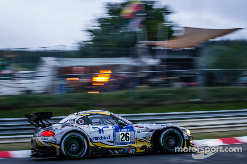 #26 Marc VDS Racing, BMW Z4 GT3: Augusto Farfus, Jörg Müller, Nicky Catsburg, Dirk Adorf
