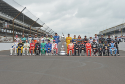 2015 Indy 500 field photo