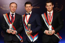 Михаил Скрипников, Андрей Жигунов, Евгений Суховенко. Бал чемпионов-2014.