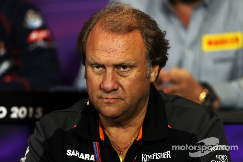 Robert Fernley, Sahara Force India F1 Team Deputy Team Principal  di FIA Press Conference