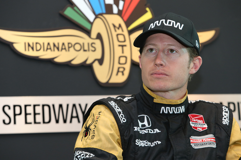 Ryan Briscoe speaks to the media about replacing James Hinchcliffe
