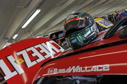 Casco de Darrell Wallace Jr., Roush Fenway Racing Ford