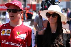 Кімі Райкконен, Scuderia Ferrari та його дружина