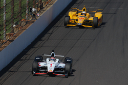 Will Power, Team Penske Chevrolet, dan Ryan Hunter-Reay, Andretti Autosport Honda
