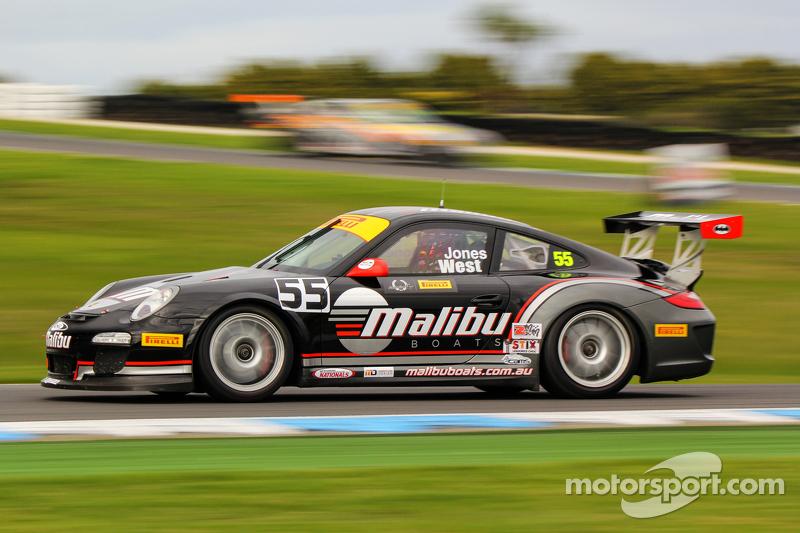 Xavier West, Andrew Jones, Porsche GT3 Cup