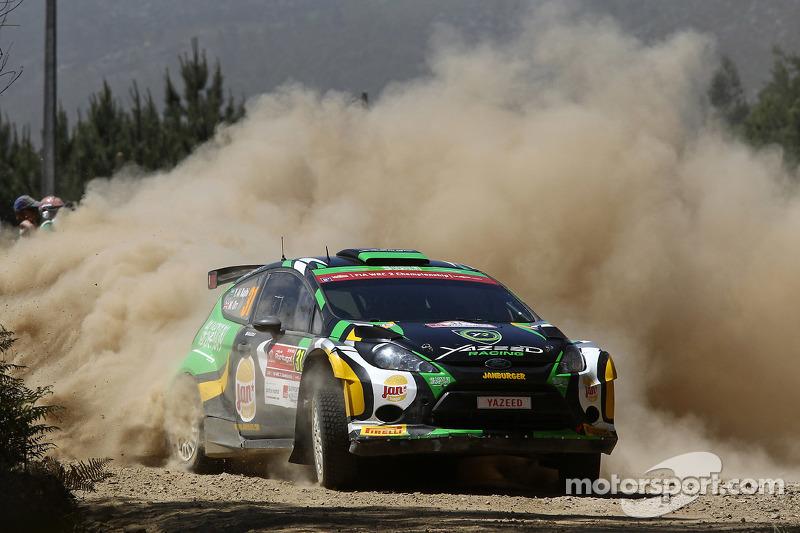 Yazeed Al-Rajhi und Michael Orr, Ford Fiesta RRC