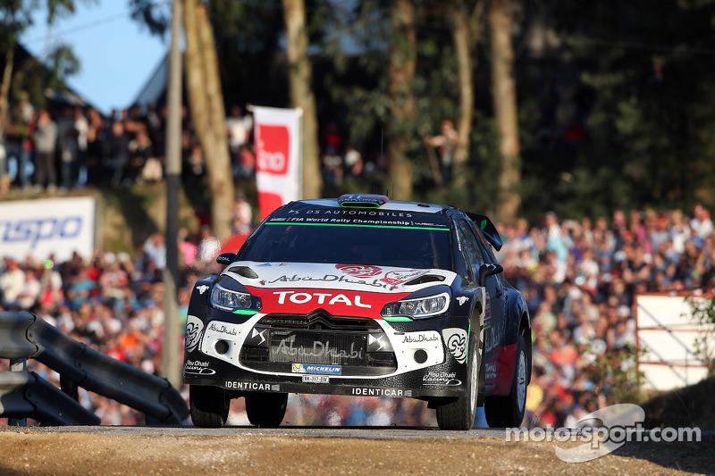 Mads Ostberg und Jonas Andersson, Citroën DS3 WRC, Citroën World Rally Team