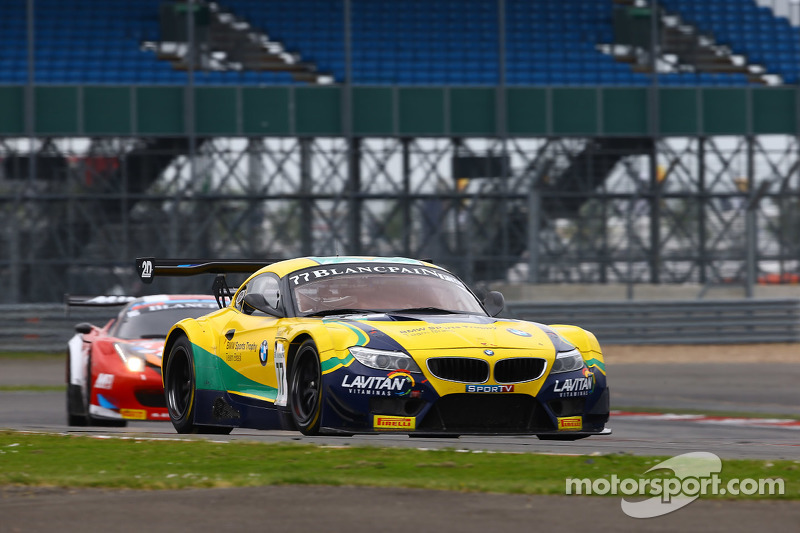 #77 BMW Sports Trophy Team Brasil, BMW Z4: Valdeno Brito, Atila Abreu, Matheus Stumpf