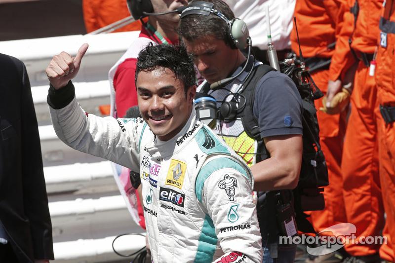 Race winner Jazeman Jaafar, Fortec Motorsports