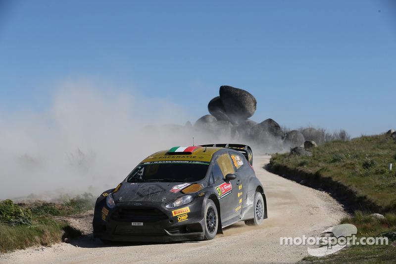 Lorenzo Bertelli, dan Giovanni Bernacchini, Ford Fiesta WRC