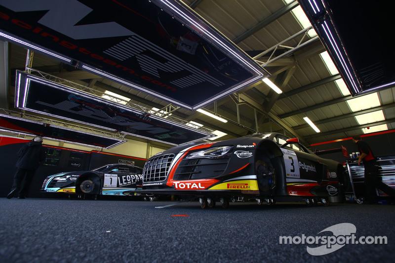 #3 Belgian Audi Sport Team WRT, Audi R8 LMS ultra: Stéphane Richelmi, Stéphane Ortelli, Frank Stippl