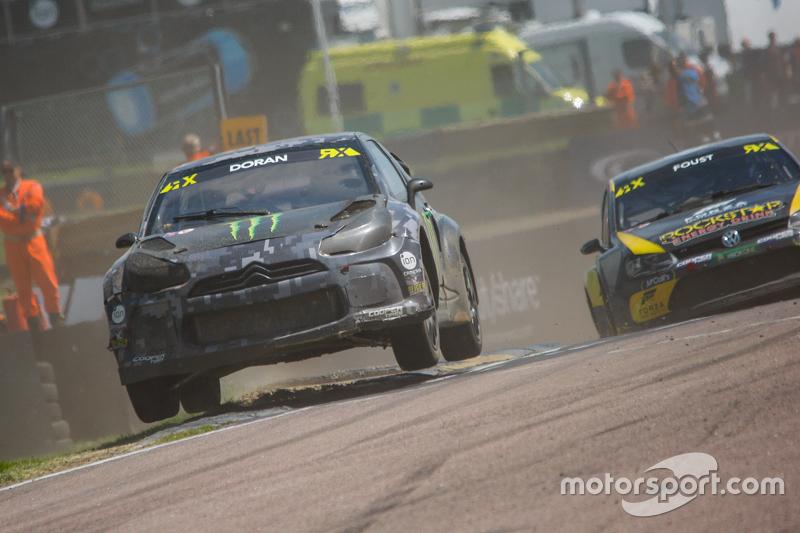 Liam Doran, SDRX Citroën DS3, und Tanner Foust, Marklund Motorsport, Volkswagen Polo